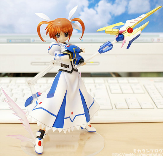 [Figurine] Actsta - Magical Girl Lyrical Nanoha The MOVIE 1st: Nanoha Takamachi 1/8 Scale actsta Action Figure 586259lyricalnanoaactstagoodsmilecompany4