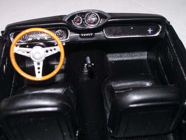 mustang shelby 350 GT 1965  kit monogram 1/24 . 586854IMGP3034