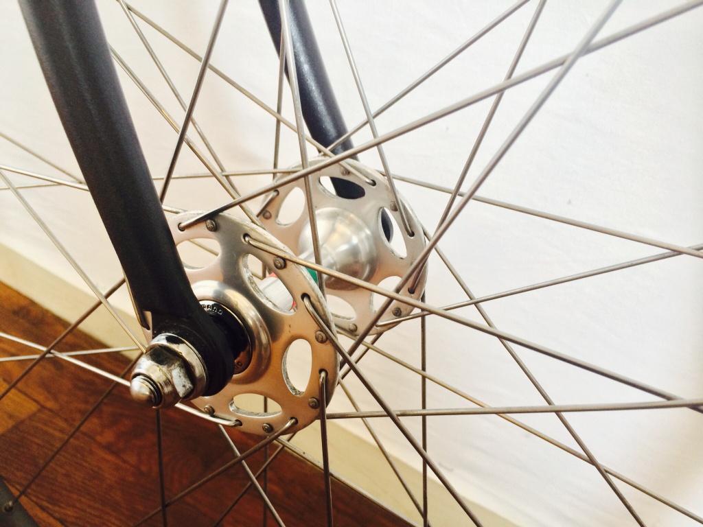 Vélo de piste Jean Marie Brun Tubes Columbus 587178image