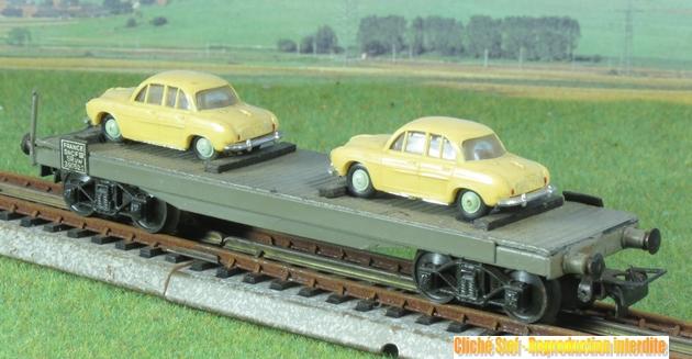Wagons plats à bogies maquette et semi maquette chargés 587518VBsemimaquettebogies2DauphineIMG3225
