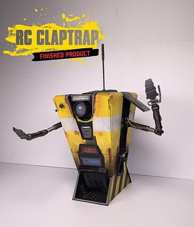 Avril 2015 Editions collector BORDERLANDS HANDSOME COLLECTION CLAPTRAP-IN-A-BOX 589021162951281815b0b7119dfn