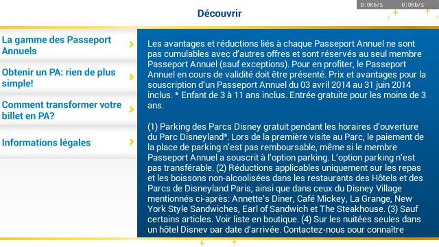 Collection des bourdes de Disneyland Paris - Page 24 58948320140414ApplicationDisney
