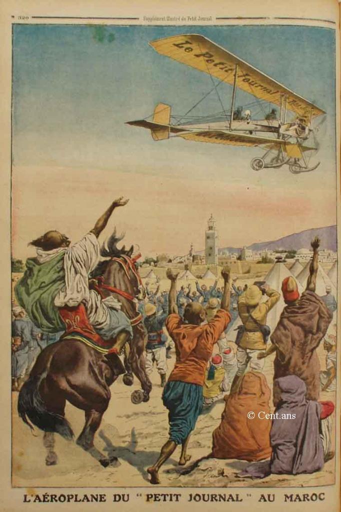 صفحات من تاريخ المغرب الحديث من خلال Le Petit journal illustré 590448pj108901101911b