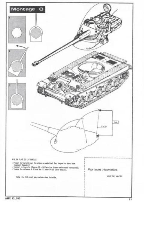 AMX 13 Canon de 105 [ Heller ] 1/35 59089513105011