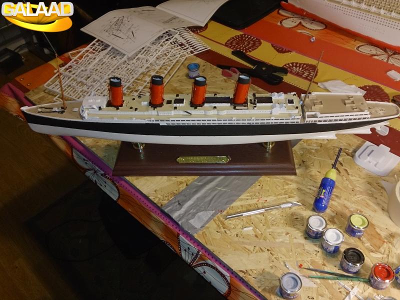 R.M.S Lusitania (Cunard)    1/350 de chez Mr HOBBY 591882773
