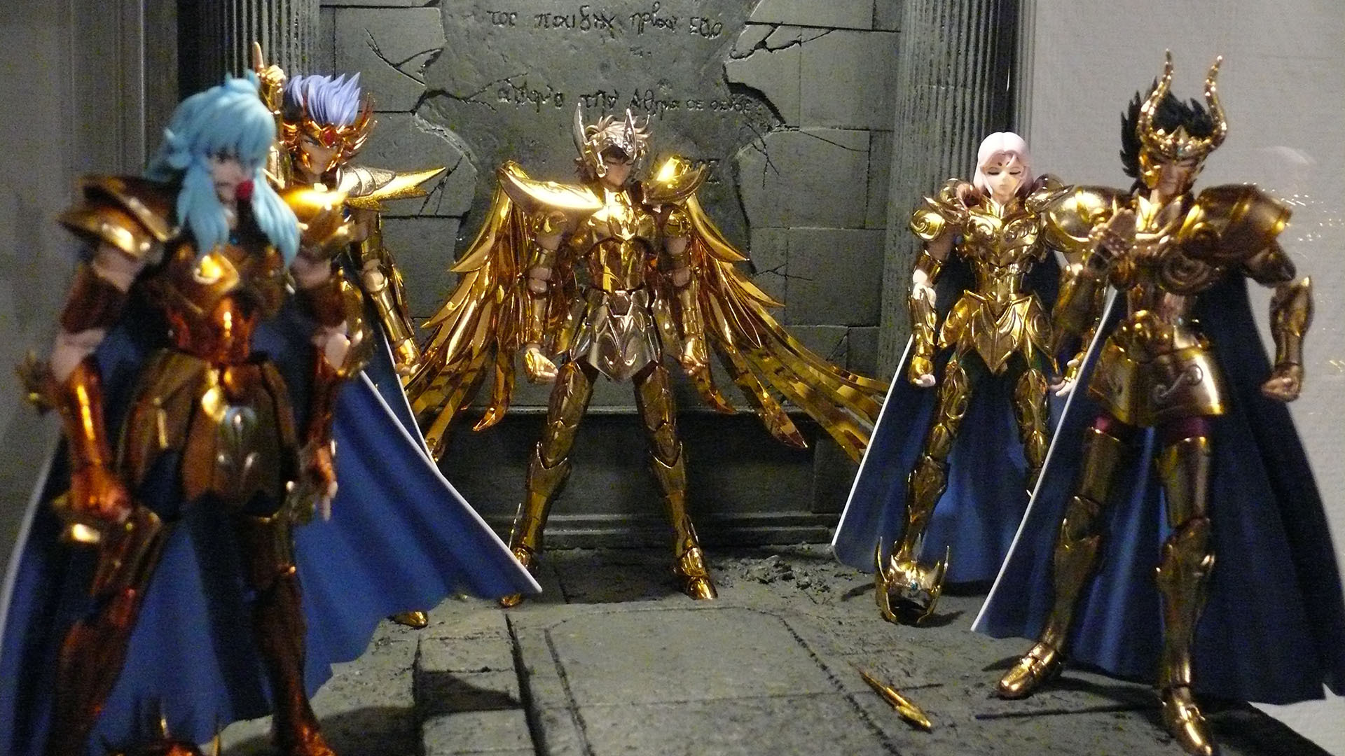 Figurines Saint Seiya (Chevaliers du Zodiaque) 592710MCEX2