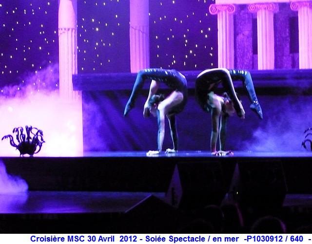 MSC Splendida Du 28 avril au 5 mai 2012 Gêne Barcelone Tunis La valette Taormine Messine Rome 593030P1030912