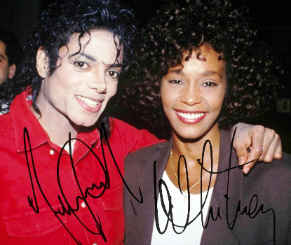 Michael Jackson & Whitney Houston 5936491281