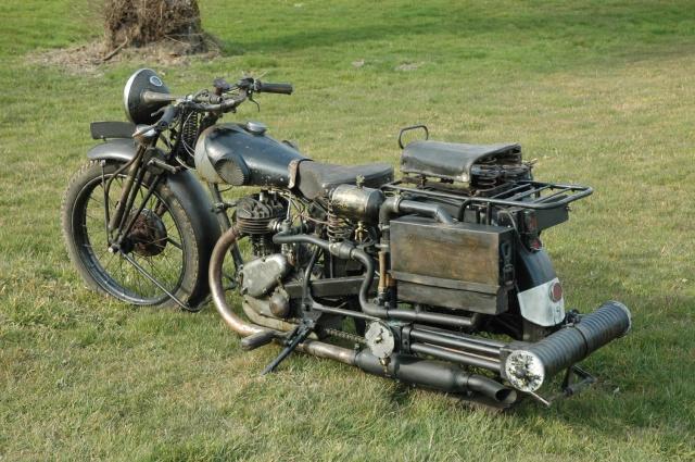 moto Peugeot P112  à gazogène 594222DSC9201