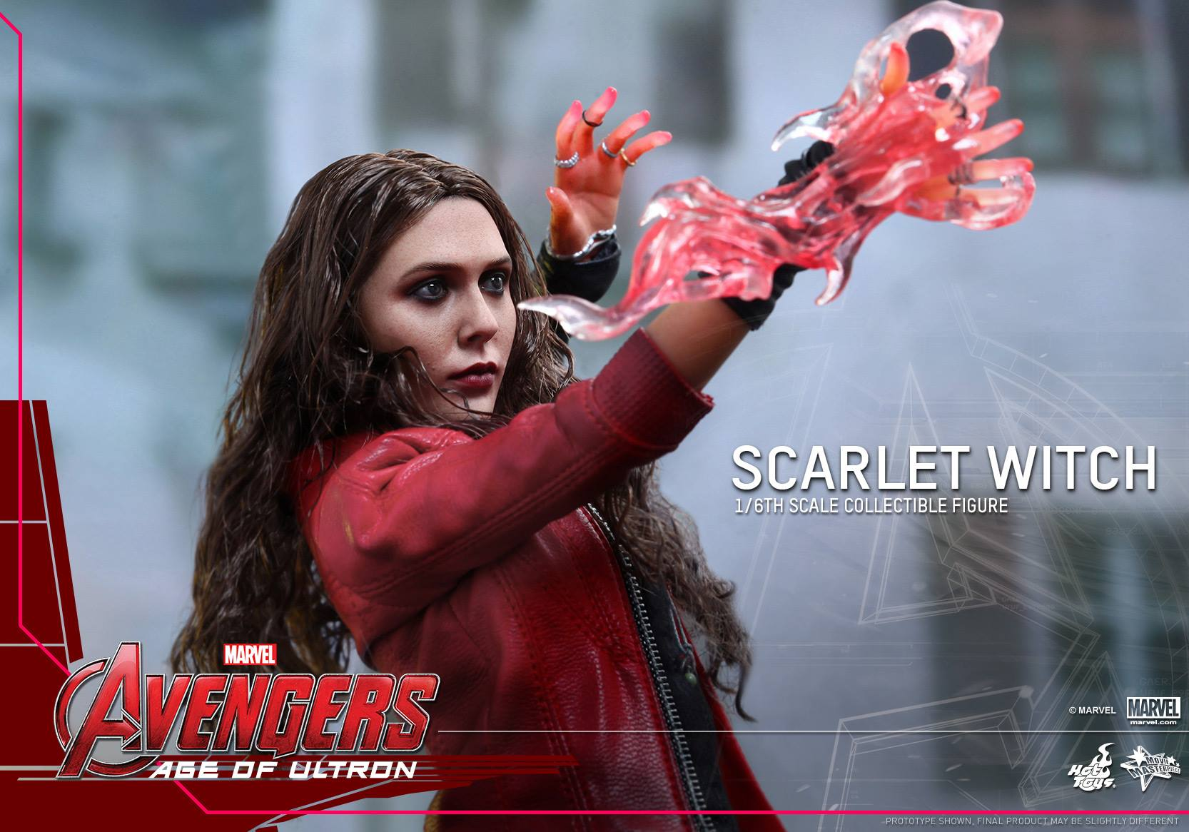 HOT TOYS - Avengers: Age of Ultron - Scarlet Witch 594715110