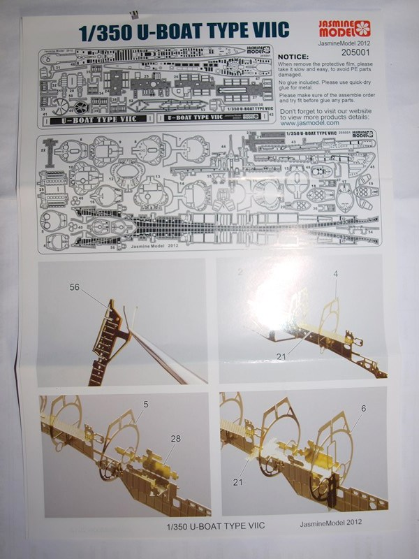 U boat VIIC  au 1/350 595662P4304527Copier