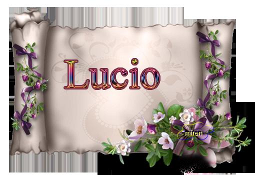Nombres con L 598021Lucio