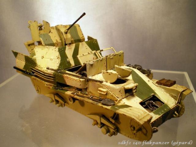 sd.kfz 140 flakpanzer (gépard) maquette Tristar 1/35 598135IMGP3091