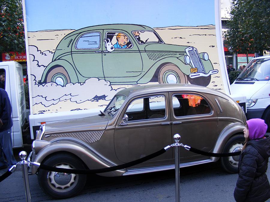 """Bruxelles côté BD  """"Tintin en automobile"""" - Page 2 598670DSCF6290"""