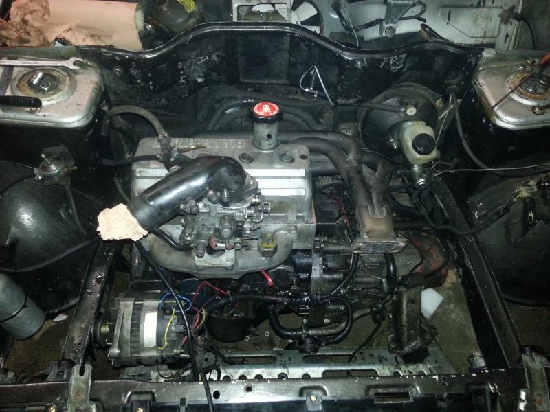Mimich et sa R9 Turbo (du moins ce qu'il en reste) 59891620121211173903
