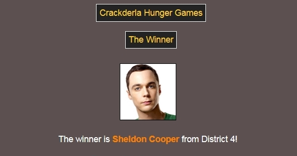 [Crackderla N°1] Hunger Games - Page 7 59940910Winner