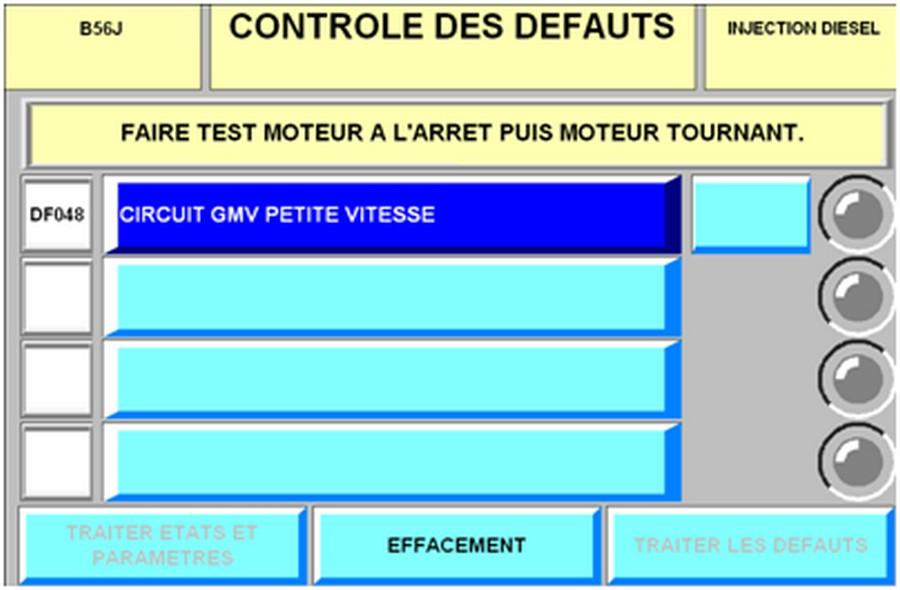 Défaut DF048 LAGUNA DTI 599422dfauitDF048