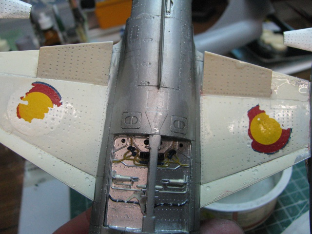 DUO: F-104N (NASA) + F-104G (BAF) Hazegawa 1/48  600391IMG5434