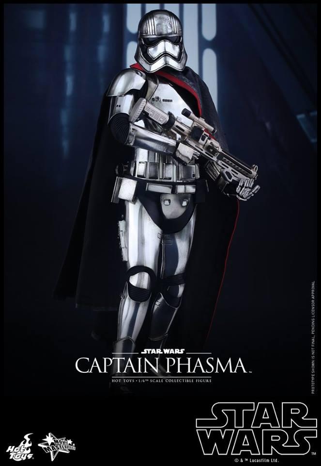 HOT TOYS - Star Wars: TFA - Captain Phasma 600714107
