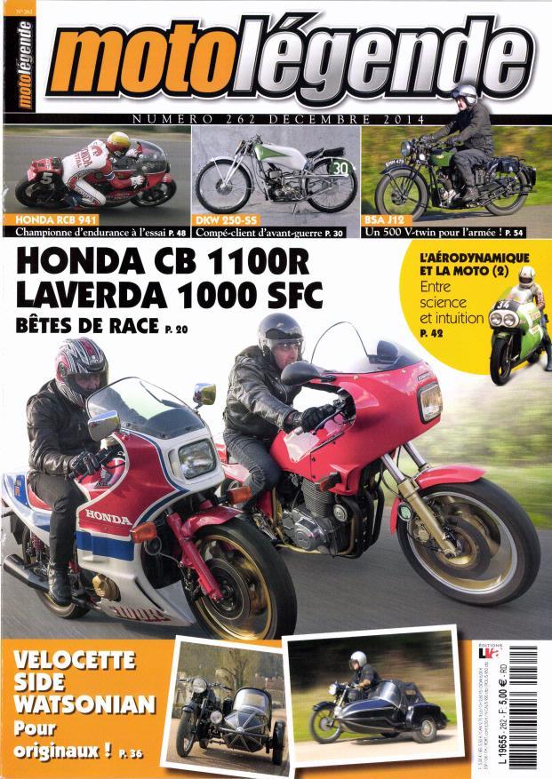 Moto légende:Honda CB 1100 R et RCB 941.... 602193motolegende
