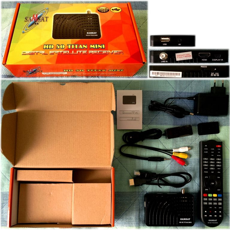 أصغر جهاز HD 604299SamsatHD50Mini