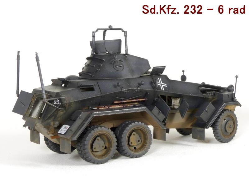 Sd.Kfz. 232 6 Rad - France 1940 - Italeri 1/35 604319P1030993