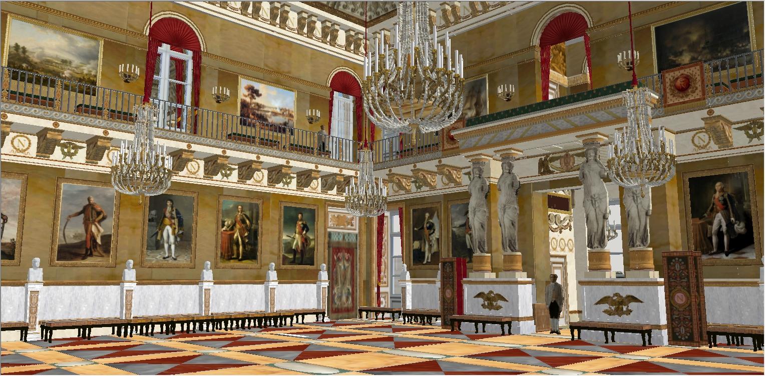 Reconstitution virtuelle du Palais des Tuileries, états Premier Empire et Second Empire 604952marchaux1