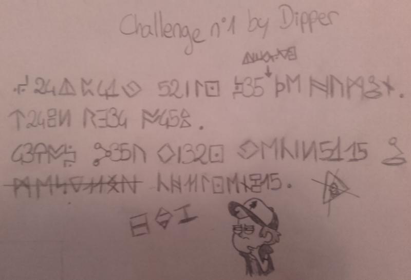 [CHALLENGE N°1] Break the code. 605201323