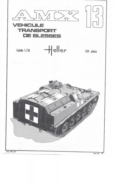 AMX 13 VTB - (Réf. L787) 1/35 605313VTB001