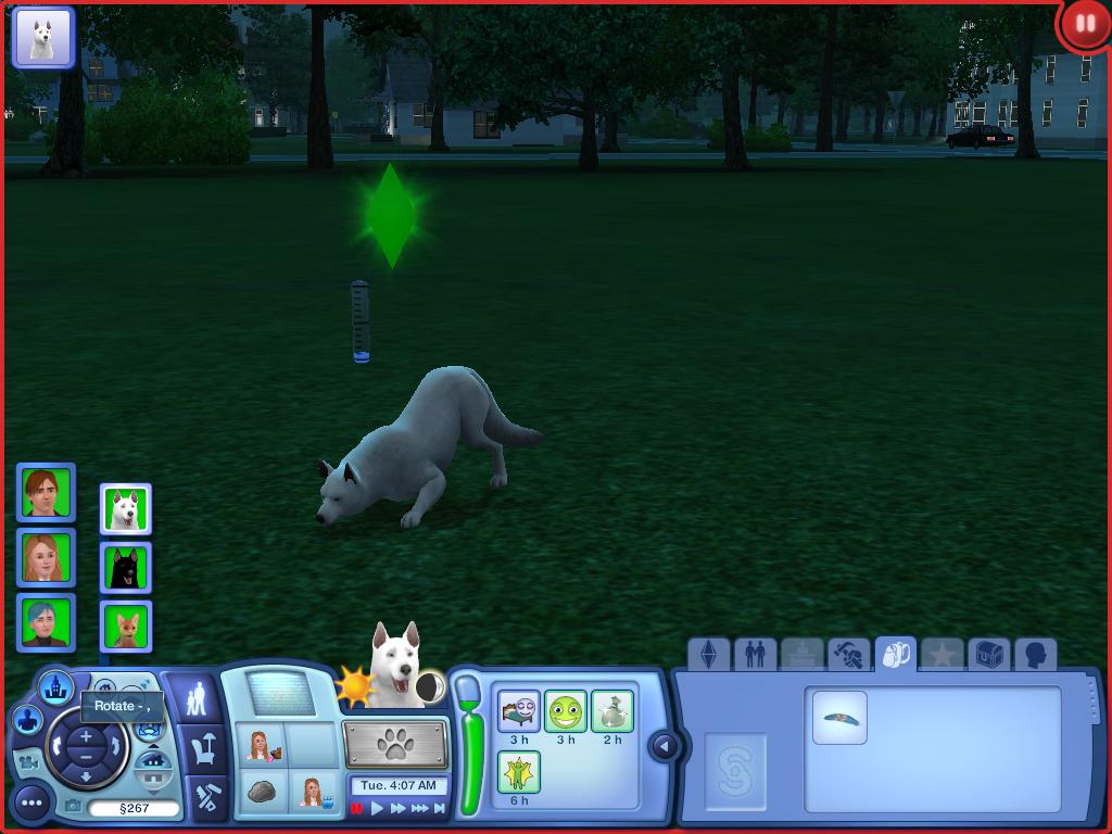 Les Sims ... Avec Kimy ! 605424lencelotchasse