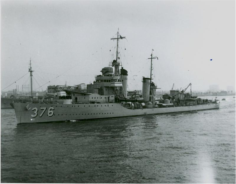 USN DESTROYERS CLASSE MAHAN 605478USSCushing