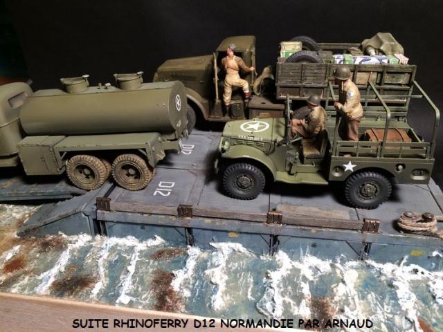 Rhinoferry D12 plage du débarquement Normandie (Hobby Boss, AFV, Italeri, 1/35) 605671rhinoferry011