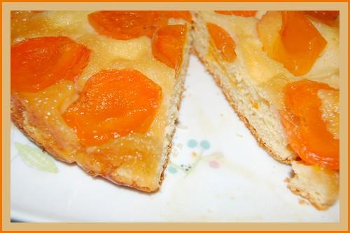 Gâteau moelleux aux abricots surgelés + photo 607290Gteauabricotssurgel003