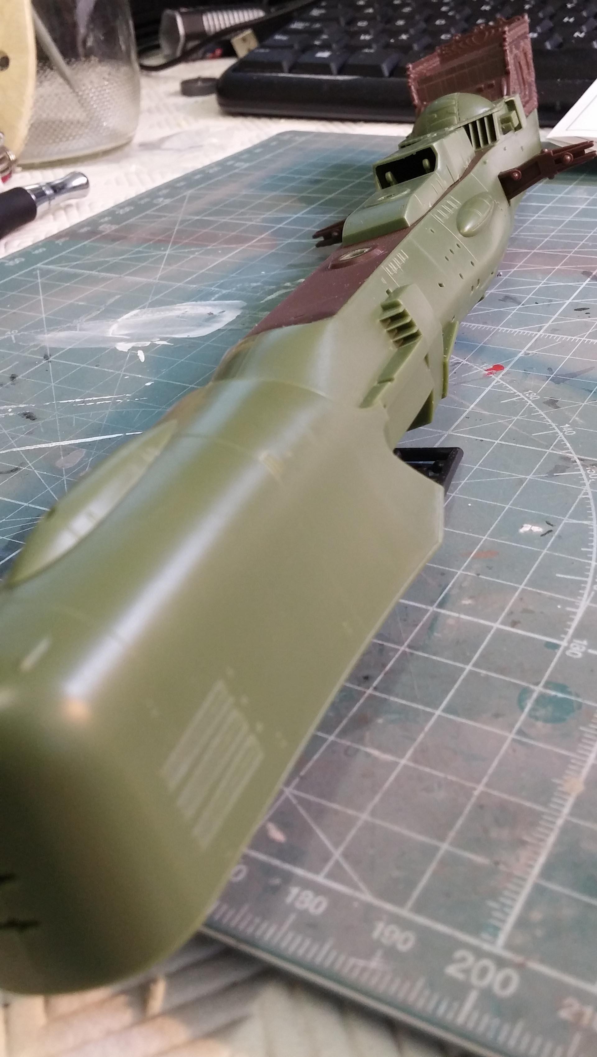 Arcadia (Albator) 1/1500 Hasegawa 607542ARCADIA11