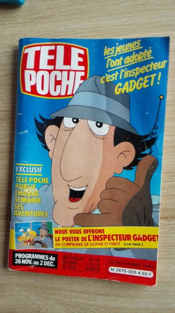 Hé la qui va là ? Inspecteur Gadget - Popy Bandai - Page 4 610192IMG20160414181809
