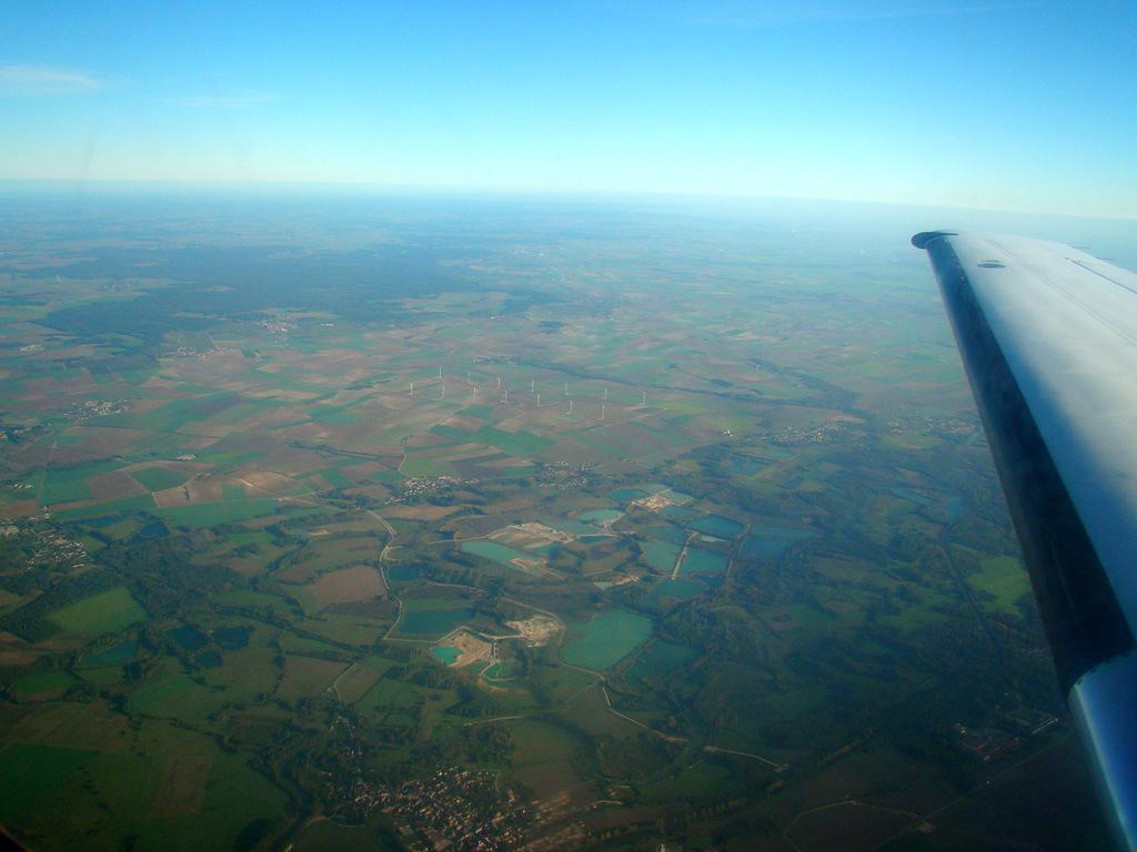 Vol en Cessna 550 CitationII , Cannes-Le Bourget 610709DSC03412