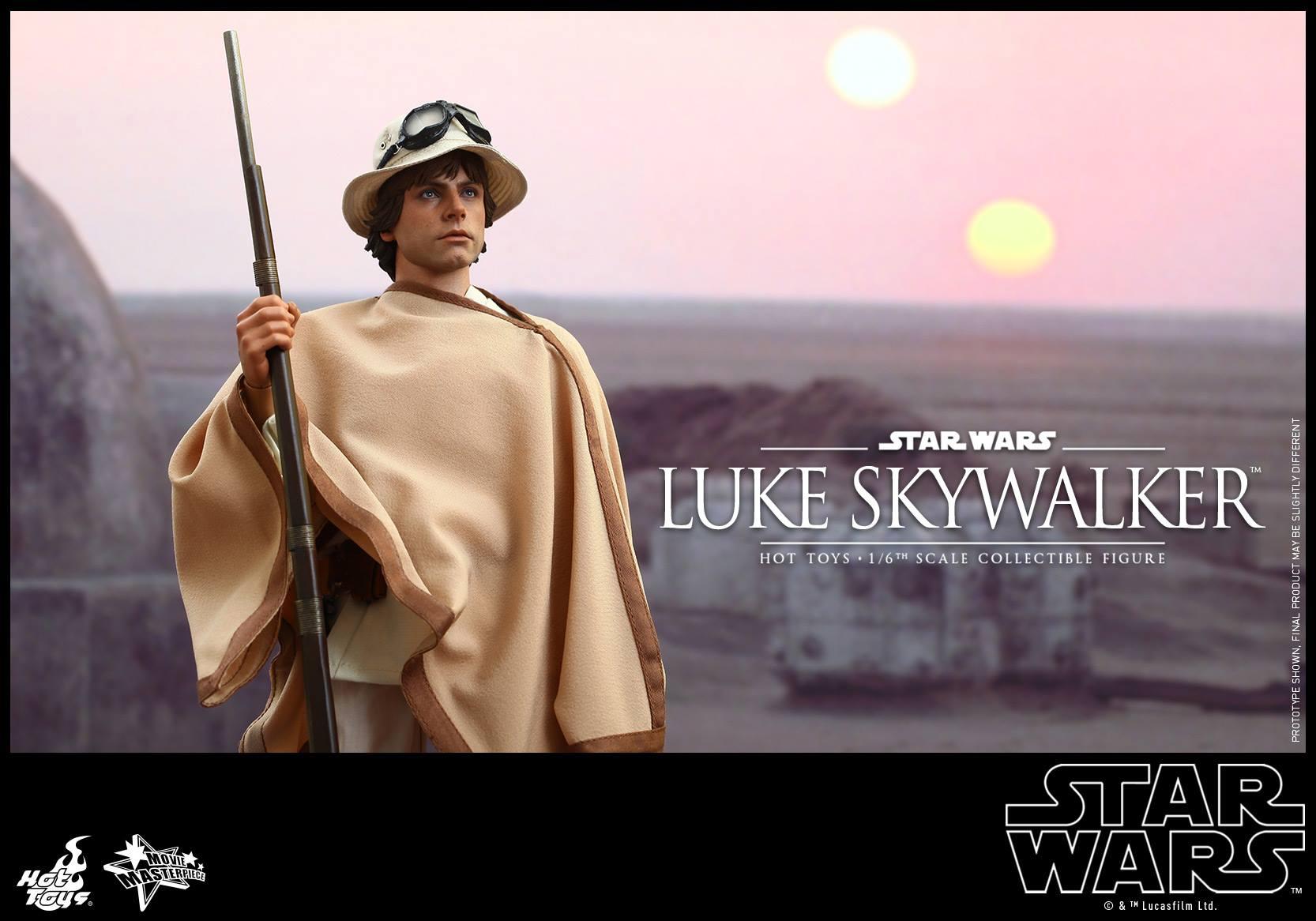 HOT TOYS - Star Wars: Episode IV A New Hope - Luke Skywalker 610848103