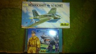 Me 163 Komet Heller 1/72 610943DSC0097