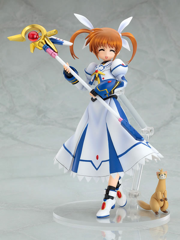 [Figurine] Actsta - Magical Girl Lyrical Nanoha The MOVIE 1st: Nanoha Takamachi 1/8 Scale actsta Action Figure 612434lyricalnanohafiguregoodsmilecompany2