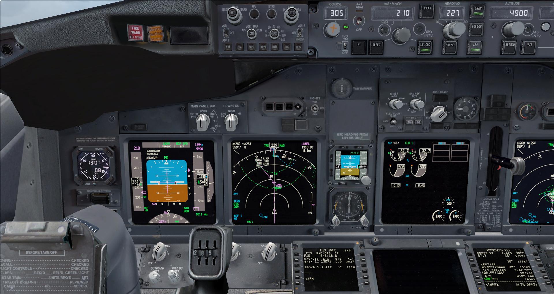 [FSX] Ryanair B737NG sur Montpellier 6124752014617195041725