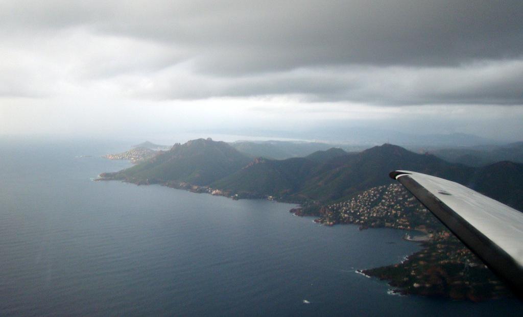 Vol en Cessna 550 CitationII , Cannes-Le Bourget 612685DSC03393