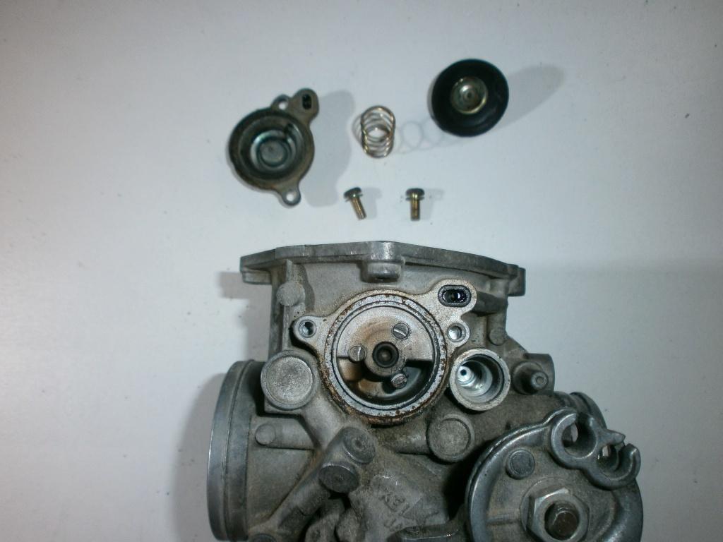 Nettoyage carburateurs de transalp 600 613212P1270021