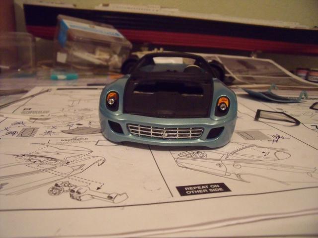 Ferrari 599GTB Fiorano. Revell. 616337boitefef026