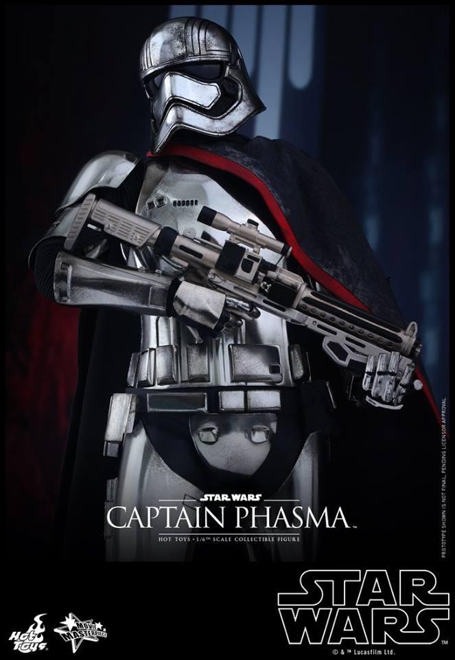 HOT TOYS - Star Wars: TFA - Captain Phasma 616384105