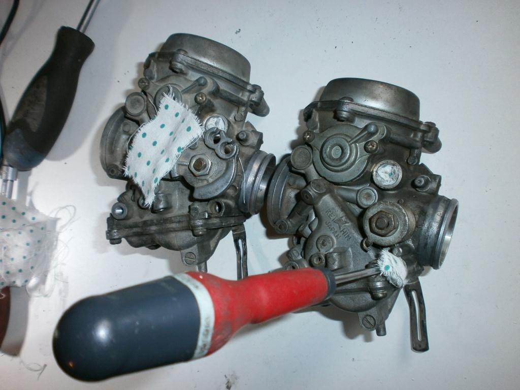 Nettoyage carburateurs de transalp 600 619605P1310004