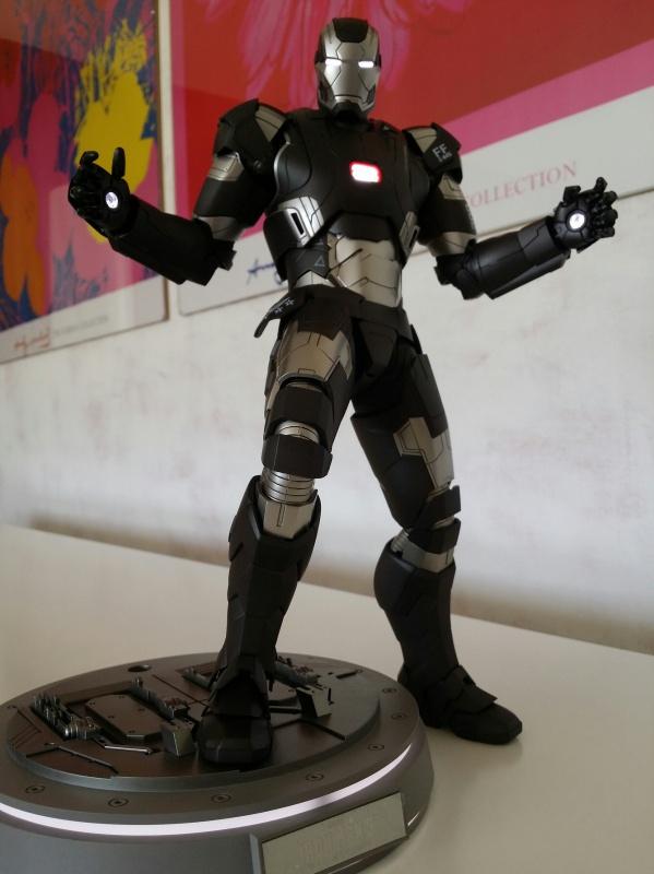 """red360 collec"""": War Machine MKII Diecast Hot Toys 619719201407161611571"""