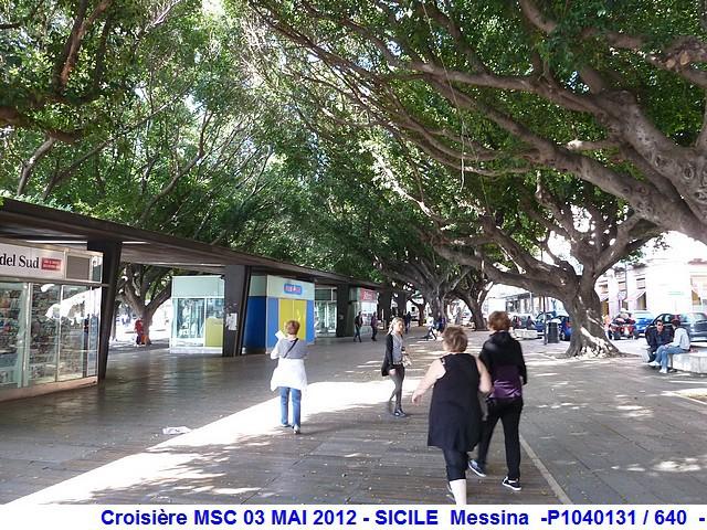 MSC Splendida Du 28 avril au 5 mai 2012 Gêne Barcelone Tunis La valette Taormine Messine Rome 620223P1040131