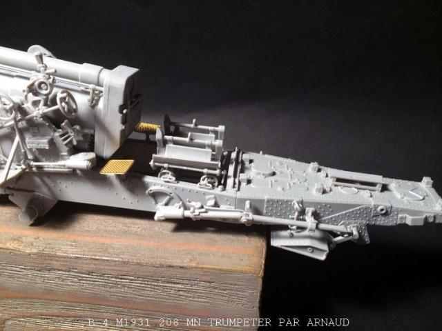 un B-4 M1931 203 mn (le marteau de Staline trumpeter 1/35 621237B4002
