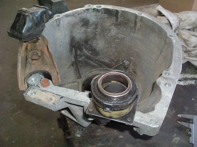 Swap moteur 2.1d -> 2.1 TD suite problème pivot embrayage 622837DSCF0213