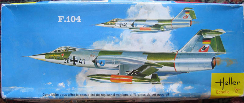 [Heller] - F 104 Starfighter à la sauce italienne. 623194F104G01